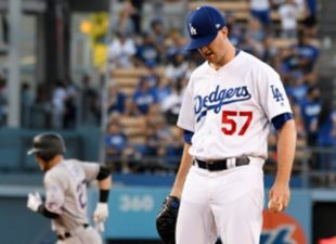 Dodgers compete but fall short to Rockies