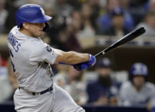 Barnes, Dodgers rally to beat Padres