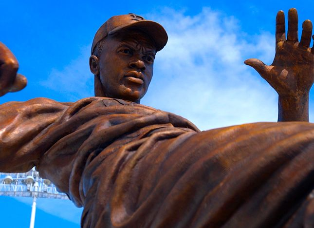 Backstage: Jackie Robinson Statue Unveiling