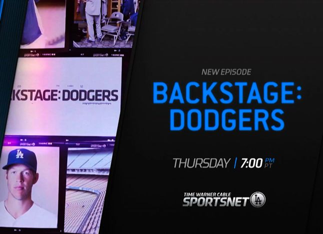 'Backstage: Dodgers' Thursday At 7 p.m.
