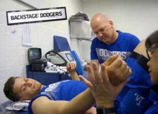 Backstage: Dodgers on the mend