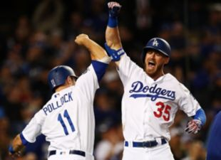 Dodgers def. Giants 6-5