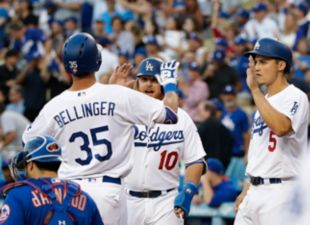 Dodgers beat Mets in a High Scoring Affair