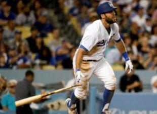 Taylor, Dodgers dominate Marlins