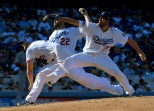 Kershaw's 11 Ks Get The W, Leads Dodgers To Game 5