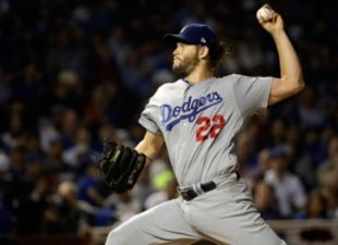 Kershaw Leads Dodgers To Even Series With Cubs