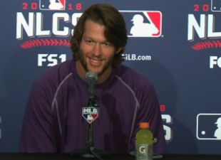 Kershaw Excited For Game 2 Start