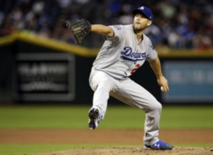 Kershaw Struggles in Arizona
