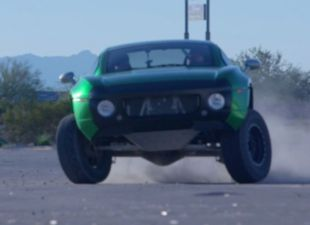 Andre Ethier builds cool 4,000-pound rally fighter