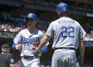Dodgers avoid the sweep, beat the Giants 6-1