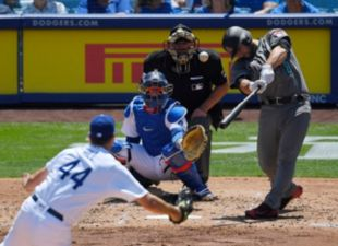 Dodgers Fall to Diamondbacks 3-1