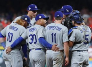 Dodgers lose 5-3 in Game 3