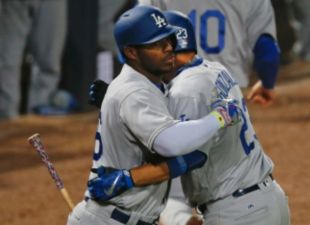 Dodgers come-from-behind, beat Braves 5-3