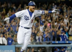 Turner Drives Dodgers Past Brewers