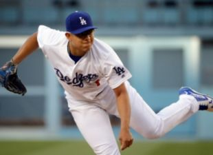 Julio Urias K's 8 In 5 Innings