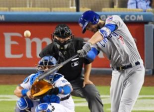Dodgers Fall To Cubs, 6-4