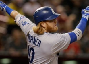 Turner, Dodgers Squeeze Past D-backs
