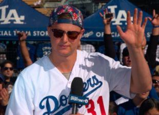 Dodgers FanFest: Joc Pederson