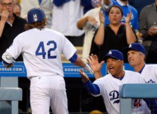 Dodgers Power Past Giants