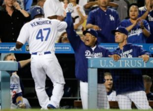 Dodgers Power Past Padres
