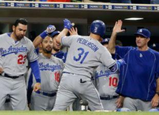 Pederson, Dodgers Top Padres 9-4