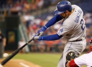 Gonzalez, Dodgers Power Past Phillies