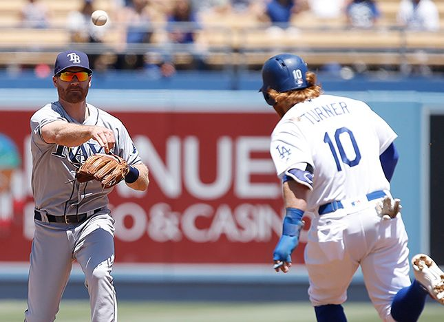 Dodgers Fall To The Rays, 3-1