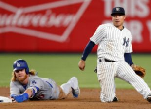 Dodgers Blanked By Yankees, 3-0