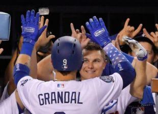 Dodgers def. Brewers, 6-4