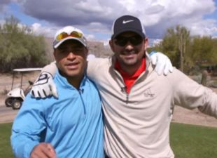 Clubhouse: Hairston and Gonzalez hit the links