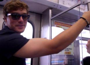 Riding the subway with Kiké Hernandez