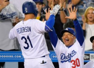 Dodgers complete four-game sweep of Mets