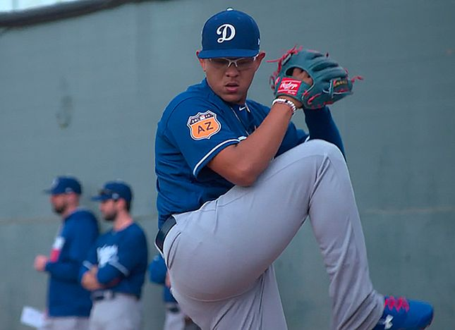 Urias, Competing For A Spot In The Roster