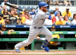 Turner, Dodgers sink Pirates
