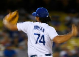 Jansen with an immaculate 9th inning