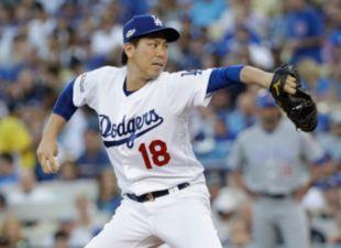 Maeda, Dodgers Drop Game 5, 8-4
