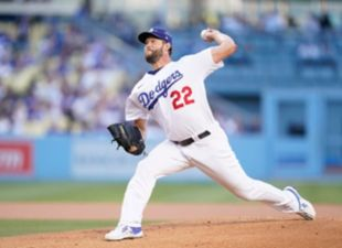 Kershaw Pitches 13Ks