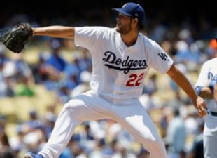 Kershaw exits game with lower back tightness