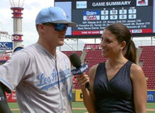 Kike Beats the Wall and Dodgers Sweep the Reds