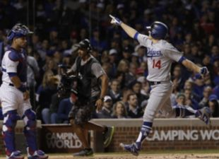 Kike powers Dodgers into World Series