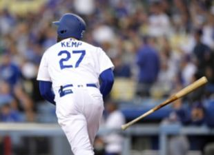 Kemp, Dodgers power past Padres