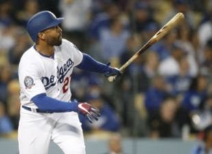 Kemp drives in four, Dodgers win 8-1