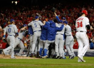 Dodgers Advance To NLCS
