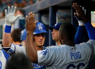 Dodgers defeat the Braves, 3-2
