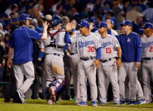 Roberts Praises Team After Beating Cubs In Game 2
