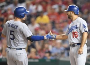 Dodgers shutout the Nationals