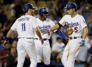 Dodgers clinch home field through NLCS