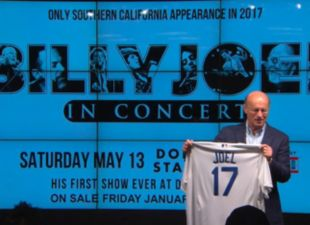 Billy Joel is coming to Dodger Stadium