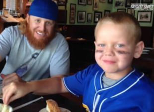 Justin Turner has special friendship with young fan