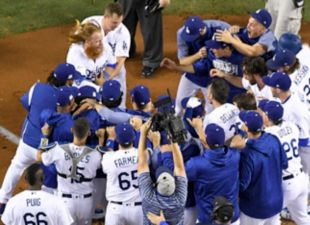 Dodgers Win Game 2 in Thrilling Fashion